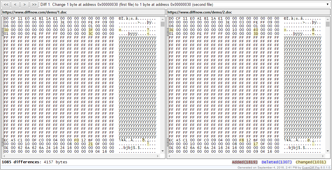 .net option compare binary
