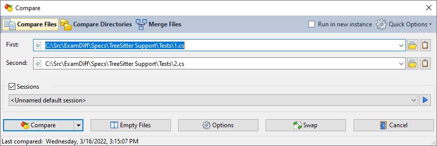 ExamDiff Pro full screenshot